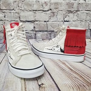 Vans X Peanuts Sk8-Hi Shoes Moccasin Inspired